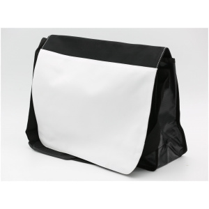 "Messenger Bag 15"" x 10.75"" (Black)"