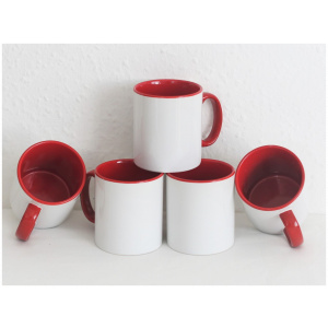 Durham Mug 10oz Coloured Inner and Handle